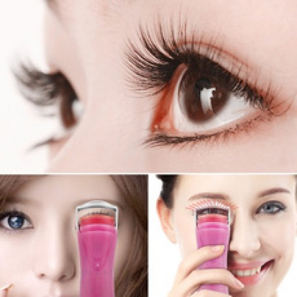 TOUCHBeauty Mini Portable Electric Eyelashes Hot Roller Long Lasting Curl