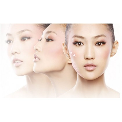 TOUCHBeauty Face Neck Double Chin Slim Tight V-Face Facial Manual Massage Roller