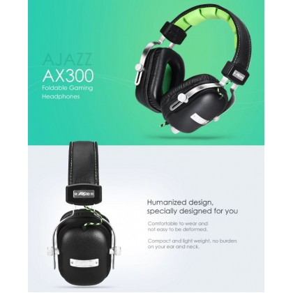 A-JAZZ AX300 Desktop PC Gaming Headset Music Voice Earphone With Microphone
