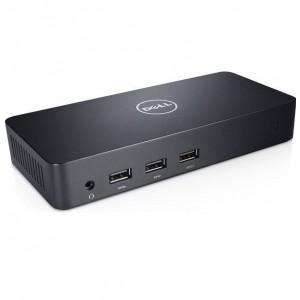 Dell D3100 Ultra HD/4K Triple Display Video USB 3.0 HDMI 36M9K Docking Station