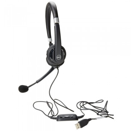 Dell UC300 Pro Professional USB Stereo Headset. Part Numbers: 3WTMD 03WTMD
