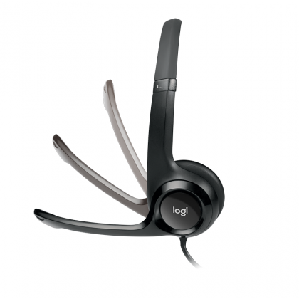 Logitech H390 USB Computer Headset Enchaced Digital Audio-In Line Controls