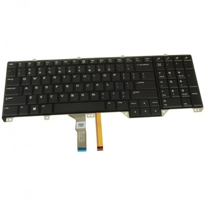 Dell Alienware 17 R2 R3 Backlit Laptop Keyboard Assembly 2C6KH 02C6KH