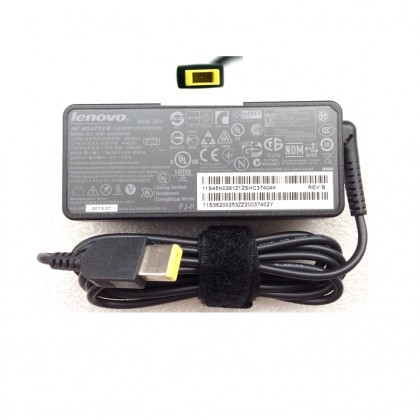 Lenovo 65W Slim Tip AC Power Adapter Charger 36200350 5A10J75114 45N0257